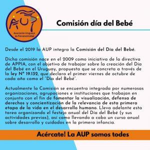 Comisión Día del Bebé parte 1